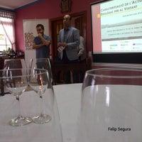 Photo taken at Restaurant Hotel Miralles by felip s. on 10/22/2013