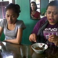 Photo taken at Bakso Mas Bagyo by miralda g. on 10/21/2012