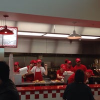 Photo taken at Five Guys by Paul F. on 5/5/2014