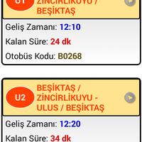 Photo taken at Besiktas İett Otobusu by Çağatay D. on 5/9/2016