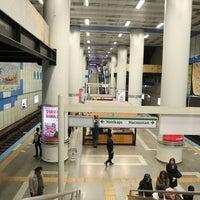 Photo taken at Levent Metro İstasyonu by Çağatay D. on 11/19/2017