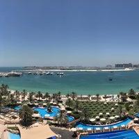 Photo taken at The Westin Dubai Mina Seyahi Beach Resort & Marina by Andreas C. on 5/24/2017