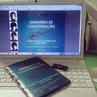 Photo taken at Faculdade INAP by Luiza F. on 3/11/2014