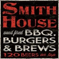 Photo taken at SmithHouse - BBQ, Burgers, Brews by SmithHouse - BBQ, Burgers, Brews on 2/7/2015