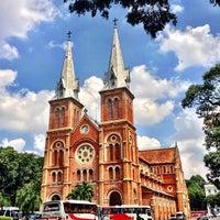 Photo taken at Saigon Notre-Dame Basilica by Craig A. on 5/29/2013