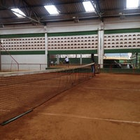Photo taken at Racket Sports by Anderson B. on 2/2/2014