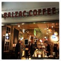 Photo taken at Balzac Coffee by Nicole H. on 11/23/2014