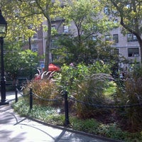 Photo taken at Abingdon Square Park by Barry F. on 9/22/2012
