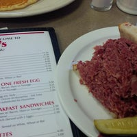 Photo taken at Slyman's Restaurant by erike m. on 11/16/2013