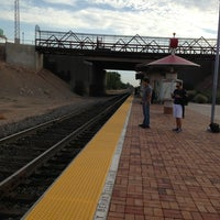 Photo taken at Rail Runner: Los Ranchos/Journal Center by Stephanie B. on 7/23/2013