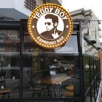 Photo taken at Teddy Boy Espresso Bar by Andrew C. on 12/11/2016