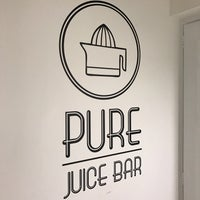 Photo taken at PURE Juice Bar by Andrew C. on 2/28/2017
