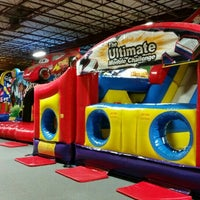 Photo taken at Bounce House Williamsburg by Sean W. on 6/12/2015