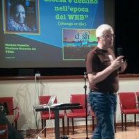 Photo taken at Teatro Socjale Piangipane by Daniele D. on 5/6/2013