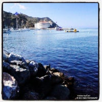 Photo taken at Santa Catalina Island by Mark T. on 9/19/2013