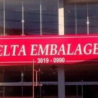 Photo taken at Delta Embalagens by Caroline F. on 3/30/2014