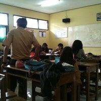 Photo taken at SMAN 6 Bekasi by Rafif F. on 8/31/2013