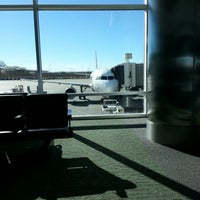 Photo taken at Gate A30 by Ben L. on 11/6/2012
