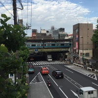 Photo taken at Nishi-nippori Station by WOLF T. on 5/29/2016