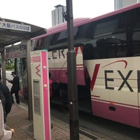Photo taken at 大阪バス 名古屋駅停留所 by WOLF T. on 4/7/2018
