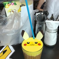 Photo taken at Pokemon Cafe Singapore by Alyssa Y. on 2/18/2017