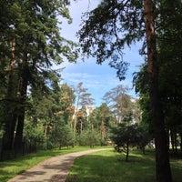 Photo taken at Перловский Парк by Liana L. on 7/24/2013