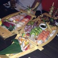 Photo taken at Sushi Ren (Ren Japanese Cuisine) by Stephanie S. on 11/9/2013