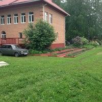 Photo taken at База отдыха «Парус» by Anna K. on 5/29/2013
