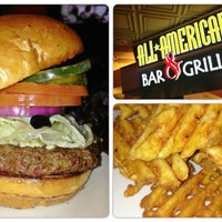 Photo taken at All American Bar & Grille by Robert R. on 1/7/2013