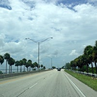 Photo taken at Courtney Campbell Causeway by Robert R. on 7/20/2013