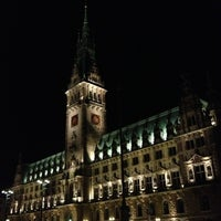 Photo taken at Hamburger Rathaus by Robert R. on 10/10/2012