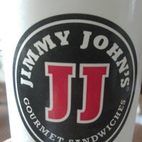 Photo taken at Jimmy John's by Iaian T. on 11/23/2012