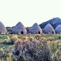 Photo taken at Ward Charcoal Ovens State Historic Park by Liz P. on 4/27/2013