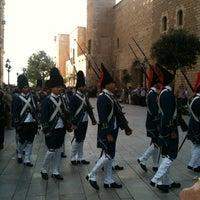 Photo taken at Palacio Real de La Almudaina by Carlos H. on 10/27/2012