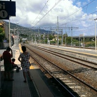 Photo taken at Stazione Patti by Giuseppe P. on 8/10/2013
