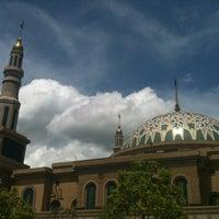 Photo taken at Masjid Islamic Centre by Saya A. on 1/13/2013