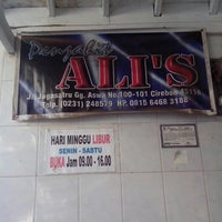 Photo taken at Ali's Tailor by Faris G. on 5/29/2013