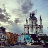 Снимок сделан в Андреевская церковь пользователем Diana T. 6/11/2013