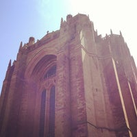 Photo taken at Liverpool Cathedral by Vincenzo A. on 5/15/2013