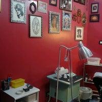 Photo taken at Namaste Tattoo Studio by Michela G. on 11/22/2013
