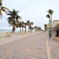 Photo taken at Hollywood Beach Boardwalk by Mando on 11/20/2012