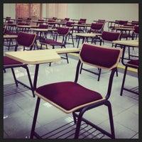 Photo taken at Ajman University J2 by Eman A. on 7/28/2013