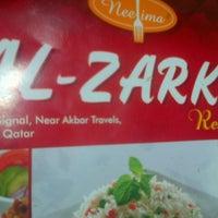 Photo taken at Al Zarka Restaurant by Savan S. on 7/8/2014