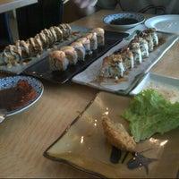 Photo taken at Sushi Naga by Vamella J. on 12/14/2014