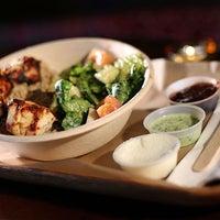 Photo taken at Loya Organic Middle Eastern Grill by Loya Organic Middle Eastern Grill on 1/4/2014