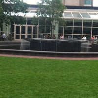 Photo taken at Prudential Center Courtyard & Garden by Sarah A. on 7/31/2013