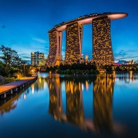 Photo taken at Marina Bay Sands Hotel by Martin L. on 1/21/2013