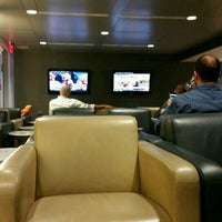 Photo taken at Lufthansa Business Lounge by Carilu T. on 11/5/2016