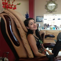 Photo taken at XO Nails by Maria B. on 6/2/2013