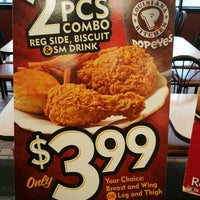 photo taken at popeyes louisiana kitchen by tom s on 3162016 - Popeyes Louisiana Kitchen Spicy Chicken Wing